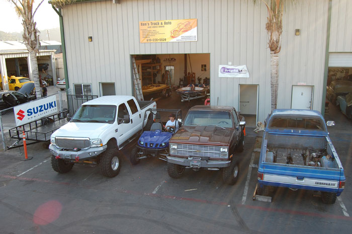 Rons truck and auto shop in San Diego
